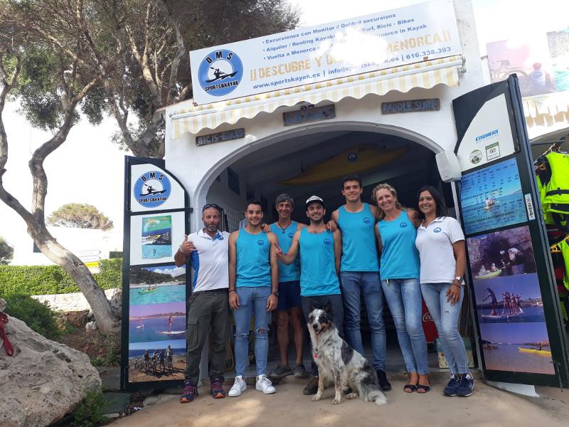 Equipo Sports Kayak Menorca