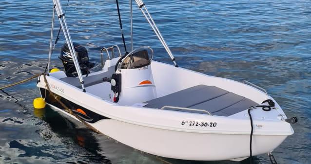 Barca Voraz 400 en alquiler